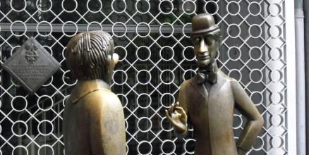 Tünnes und Schäl in der Altstadt von Köln