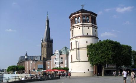 Schlossturm Schifffahrtmuseum Düsseldorf