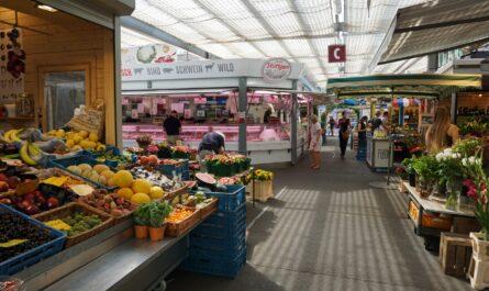 Wochenmarkt am Carlsplatz in Düsseldorf